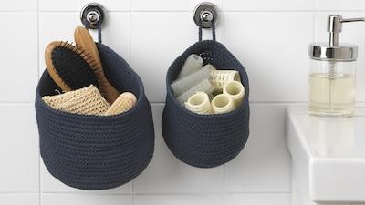 浴室储物盒和篮子