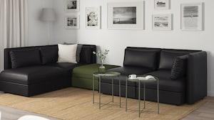 人造革转角沙发
