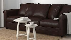 人造革三人沙发