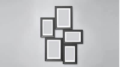 Collage photo frames