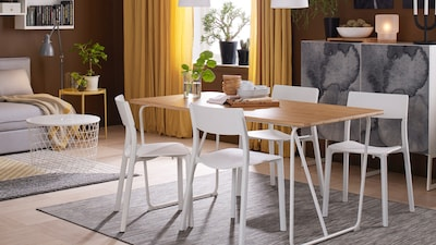 Dining table tops & underframes
