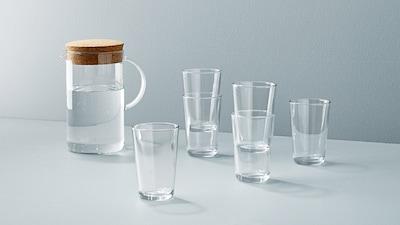 IKEA 365+ glassware